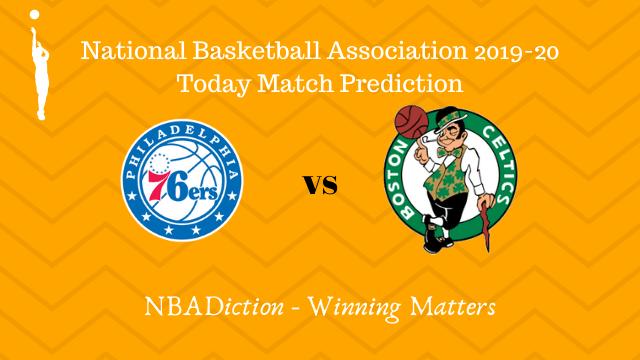 76ers vs celtics 24102019 - 76ers vs Celtics NBA Today Match Prediction - 23rd Oct 2019