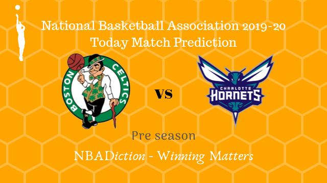 celtics vs hornets preseason - Celtics vs Hornets NBA Today Match Prediction - 6th Oct 2019