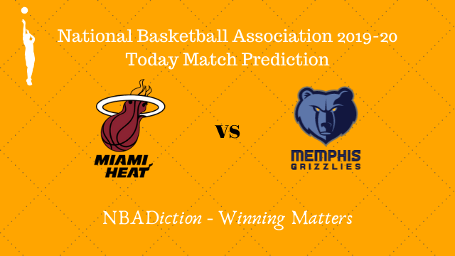 heat vs grizzlies 24102019 - Heat vs Grizzlies NBA Today Match Prediction - 23rd Oct 2019