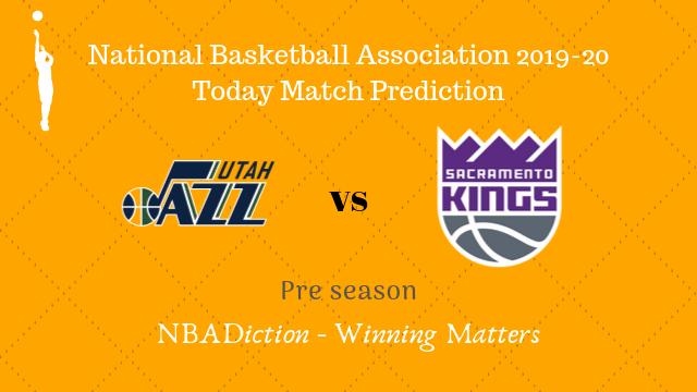 jazz vs kings preseason - Jazz vs Kings NBA Today Match Prediction - 15th Oct 2019