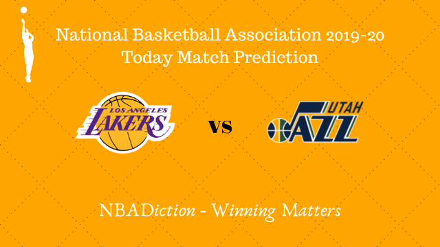 lakers vs jazz 26102019 - Lakers vs Jazz NBA Today Match Prediction - 26th Oct 2019