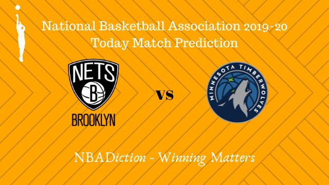 nets vs timberwolves 24102019 - Nets vs Timberwolves NBA Today Match Prediction - 23rd Oct 2019