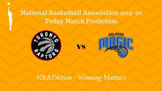 raptors vs magic 29102019 - Raptors vs Magic NBA Today Match Prediction - 28th Oct 2019