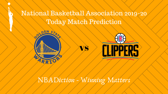 warriors vs clippers betting - Warriors vs Clippers NBA Today Match Prediction - 25th Oct 2019