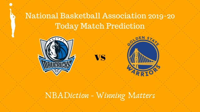 mavericks vs warriors prediction 21112019 - Mavericks vs Warriors NBA Today Match Prediction - 21st Nov 2019