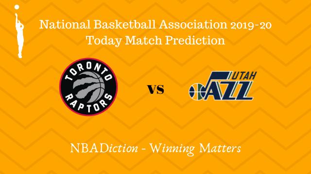 raptors vs jazz prediction 02122019 - Raptors vs Jazz NBA Today Match Prediction - 1st Dec 2019