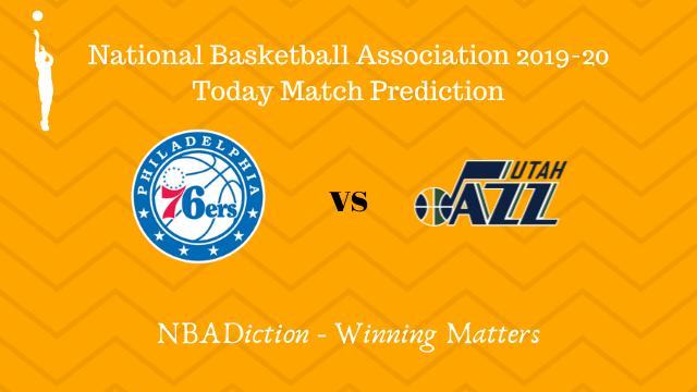 76ers vs jazz prediction 03122019 - 76ers vs Jazz NBA Today Match Prediction - 3rd Dec 2019