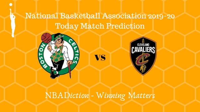 celtics vs cavaliers prediction 10122019 - Celtics vs Cavaliers NBA Today Match Prediction - 10th Dec 2019