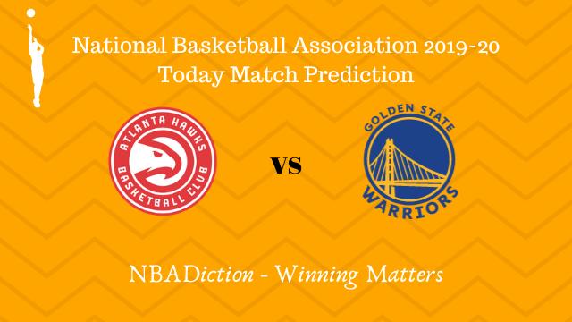 hawks vs warriors prediction 03122019 - Hawks vs Warriors NBA Today Match Prediction - 3rd Dec 2019