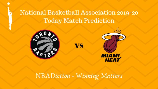 raptors vs heat prediction 04122019 - Raptors vs Heat NBA Today Match Prediction - 4th Dec 2019