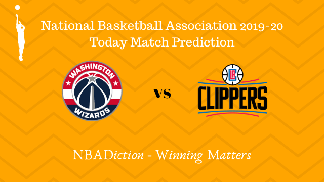 wizards vs clippers prediction 09122019 - Wizards vs Clipppers NBA Today Match Prediction - 8th Dec 2019
