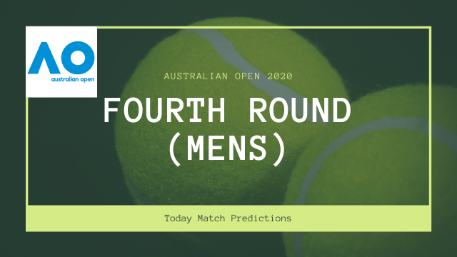 australian open prediction fourth round mens - Australian Open 2020 Prediction - Fourth Round Men's 27th Jan 2020